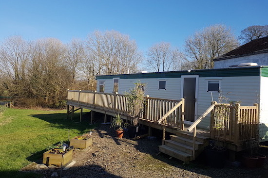Dolcoed - Camarthenshire Nudist Caravan Park - Static Caravan 2